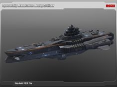 Spaceship Maelstrom Heavy Cruiser | 3D Space | Unity Asset Store