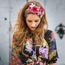 Αποτέλεσμα εικόνας για tocados moda hippie chic