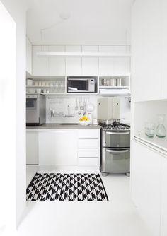 12 cozinhas pequenas com projetos inteligentes (Foto: Divulgação)