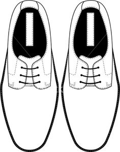 stock-illustration-5635809-lace-up-formal-shoe-template.jpg (300×380)