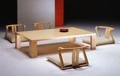 Diseño de Interiores & Arquitectura: Comedor Japonés, Muebles de Sala Con Un Estilo Minimalista Japonés
