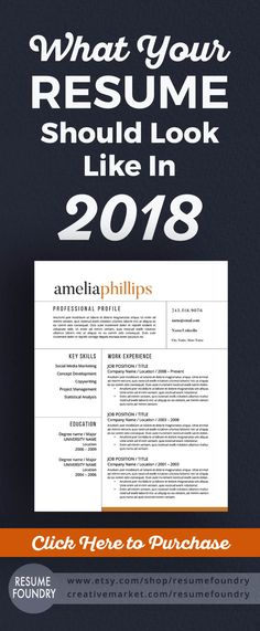 Shop Etsy to optimize your resume with this easy to use resume template. Just open in Word, copy the contents from your old resume into your new resume template and send to your recruiter today. Modern Resume Template, Cv Template, Resume Templates, Cv Tips, Resume Tips, Resume 2017, Work On Writing, Writing Tips, Job Interview Answers