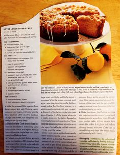 Lemon Dessert Recipes, Classic Cake, Granulated Sugar, Unsalted Butter, Coffee Cake, Brown Sugar, Vanilla, Pure Products, Sprinkles