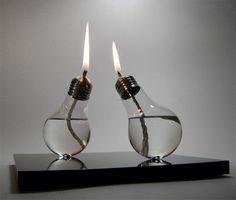 Candle Light Bulbs by Sergio Silva