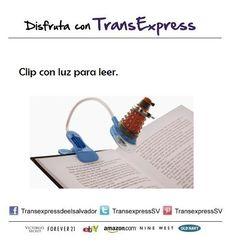 Tu vista es importante y tu libro será más interesante.  http://amzn.com/B0041D7WLM Costo del artículo puesto en El Salvador $31.70
