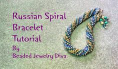 Russian Spiral Tutorial: You asked for it, so here is a tutorial for a bracelet made with the Russian Spiral beading stitch. :) Keep watching to the end for ...