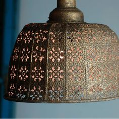 Moroccan Ceiling Pendant Light 79.95GBP in gold By Made With Love