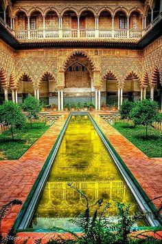 Espagne # Seville # Jardin de l'Alcazar