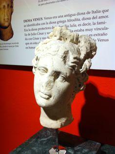 Museo de VLIA ( Montemayor, Córdoba). Venus de Montemayor, encontrada en la Villa de la Zargadilla y donada al museo. Posiblemente fue importada.