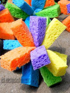 E.C.B. (Especially Creative Broad): Sponge Water Bombs