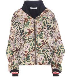 PHILOSOPHY DI LORENZO SERAFINI Jacquard bomber jacket. #philosophydilorenzoserafini #cloth #current week
