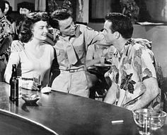 """From Here To Eternity"" (1953) stars, Donna Reed, Frank Sinatra and Montgomery Clift."