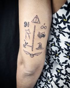 trendy tattoo harry potter girls trendy tattoo harry potter girlsPotter A potter is someone who makes pottery. Potter may also refer to: . Mini Tattoos, Trendy Tattoos, New Tattoos, Body Art Tattoos, Small Tattoos, Tattoos For Guys, Tatoos, Harry Potter Tattoos, Literary Tattoos