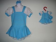 Girls Sweet Blue & White Gingham Print Ice Skate by SeamsByTeri, $90.00
