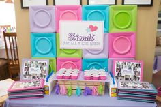 Girly Lego Friends Birthday Party via Kara's Party Ideas | Full of party ideas, printables, recipes, supplies, favors, and more! KarasPartyIdeas.com (23)