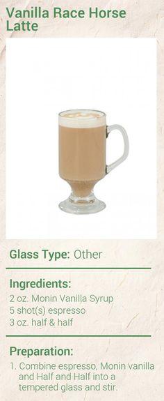 Vanilla Race Horse Latte