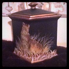 Vase Leopard design Other