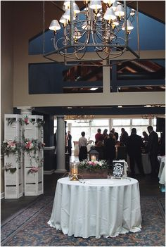 Lighthouse Sound Restaurant Wedding with flowers by Little Miss Lovely Floral Design // Ocean City Maryland