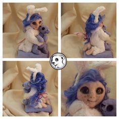Needle felting doll project. | IreneIrving's Crafty Creative