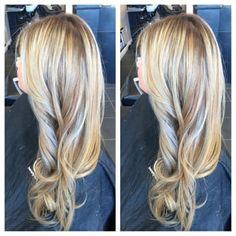 Ombré balayage on previously highlighted hair! - Yelp