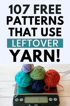 Scrap Yarn Crochet, Crochet Diy, Crochet Gifts, Crochet Stitches Patterns, Crochet Designs, Knitting Patterns, Yarn Projects, Crochet Projects, Crochet Simple