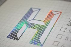 Design Practice: VIEW - print finishes/foiling
