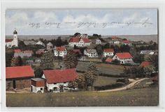 Alte Ansichtskarte Utting am Ammersee Teilansicht