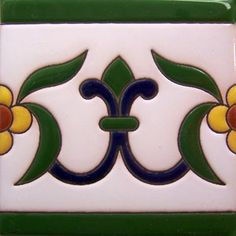 #Highrelief #tile from #myMexicanTile is #ideal for any #indoor #outdoor #decor…