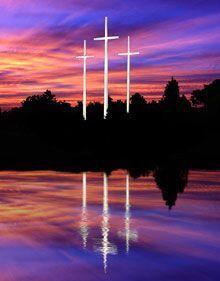 Bellevue Baptist Church...Cross Monument