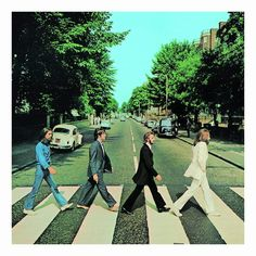 Classic: While Let It Be was the last album to be released by The Beatles, it was not their final recording - that honour went to 1969 release Abbey Road Beatles Album Covers, Iconic Album Covers, Beatles Albums, Cool Album Covers, Music Album Covers, Abbey Road, Les Beatles, Vinyl Cover, Album Covers