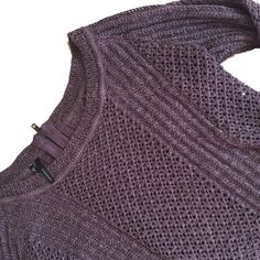 Maurices high low sweater with zipper back Gorgeous knit!  Zipper all the way down the back. Cropped in front and longer in back. Excellent condition. Tag size large, but would fit medium too. Maurices Sweaters Crew & Scoop Necks