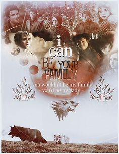 Game of Thrones. I'd ship them but their age difference is a bit much for me. Also Arya needs family, not a boyfriend.