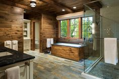 Rustic Cabin Bathroom Ideas Luxury 16 Fantastic Rustic Bathroom Designs that Will Take Your Breath Away Rustic Cabin Bathroom, Cabin Bathrooms, Rustic Bathroom Designs, Rustic Kitchen Design, Rustic Bathrooms, Modern Bathroom Design, Rustic Design, Rustic Style, Modern Rustic