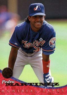 Pedro Martinez- Montreal Expos - 1994 Donruss http://newdesultorybaseball.tumblr.com/post/32062924617