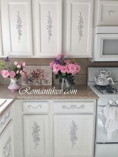 My Shabby Chic Home ~ Romantik Evim ~Romantik Ev: Romantic ev:Romantik ev : Pink roses