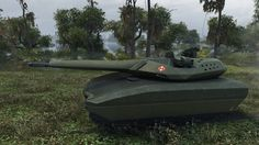 WoT PL-01 Concept (reskin for T-100 LT by _RazNaRok_) 7975 DMG 1605 EXP ...