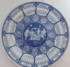 The Spode Blue Room Collection Plate Greek by TimeGoneByVintage, $12.00
