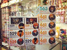 Los novatos de Karasuno ya están en #Zaitama  Los Nendoroid de Tobio y Hinata edición limitada ya los puedes encontrar en nuestra tienda! Así como toda la línea Nendoroid de los demás personajes de la serie.  Cuál es tu favorito?