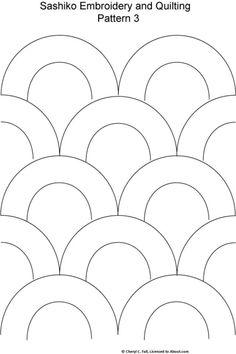 Sashiko Pattern 2: Sashiko Pattern 3