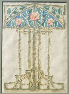 ann macbeth and the glasgow embroidery style - Google Search