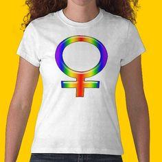 Rainbow Gal Shirts by SpeakItDesigns