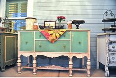restored vintage furniture