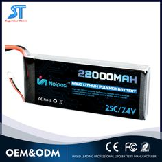 Customized 7.4V 22000mAh lipo battery for power bank
