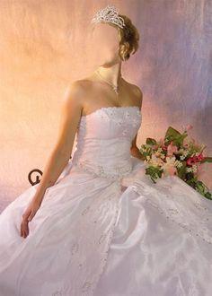 Свадебные платья фото вставить лицо