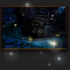 ... aber HEUER ... erwische ich es, das Christkind !!! Und dann zerbeiss ich's !!! Photo Manipulation, My Photos, Fish, Animals, Art, Pictures, Cosy Christmas, Cute Pictures, Art Background
