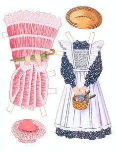 The Secret Garden paper dolls by Peck Aubry - Nena bonecas de papel - Picasa Albums Web