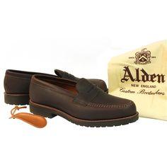 TheShoeMart BootMaker Editions | Alden Men's Leisure Handsewn Calfskin Style #: 5734S |