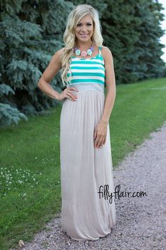 In love with this maxi dress!
