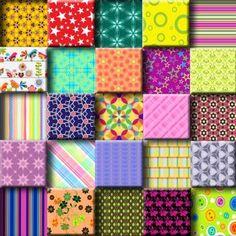5 X 5 Section Of A Previous 100 Tile Puzzle Image copyright: (C) Kathy Potts 2016
