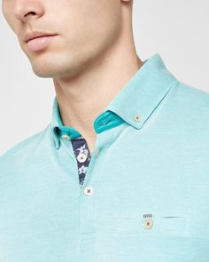 http://www.tedbaker.com/uk/Mens/Clothing/Tops-T-shirts/ABADABA-Oxford-polo-shirt-Mint/p/125846-37-MINT